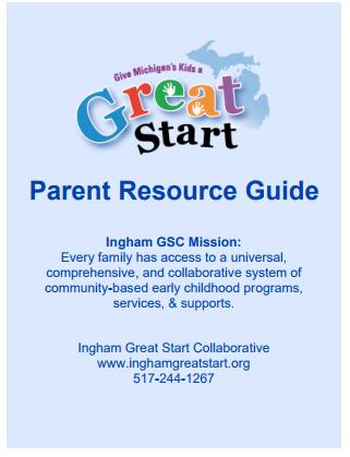 2018-2021 Strategic Plan | Ingham Great Start Collaborative